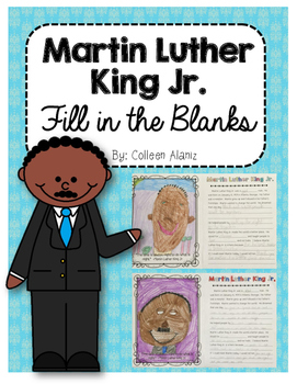 Martin Luther King Jr. Fill-in-the-Blanks