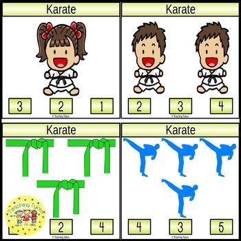 Karate Task Cards