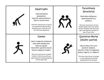 Martial Arts PUNCHuation