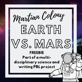 Martian Colony FREEBIE- Comparing Planets