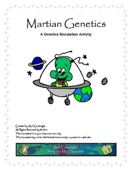 Martian Genetics - Alien Simulation Activity