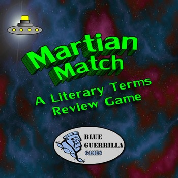 Martian Match: A Literary Terms Review Game