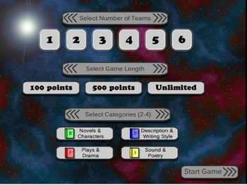 Martian Match: A Literary Terms Video Game DEMO