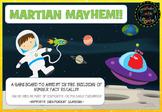 Martian Mayhem Addition Facts Boardgame Free