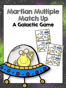 Martian Multiple Match Up Freebie