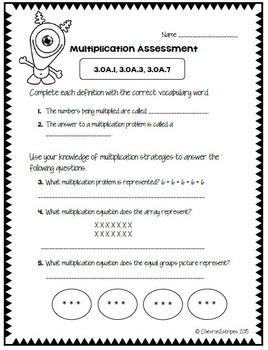 Martian Multiplication Assessment