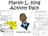 Martin L. King Activity Pack
