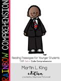 Martin L King, Jr-Rainbow Comprehension Freebie
