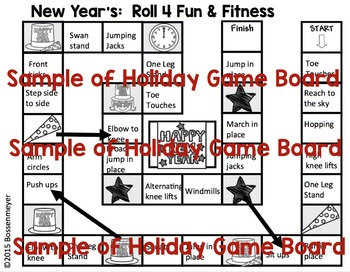 Martin L. King Roll 4 Fun and Fitness Board Game