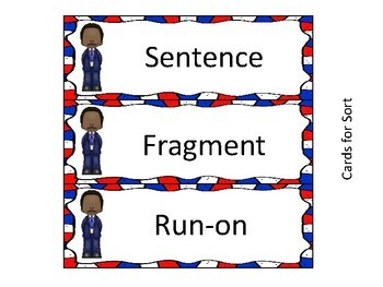Martin Luther King, Jr. ZAP! Sentences, Fragments, and Run-ons