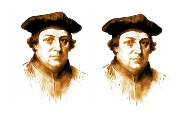 Martin Luther Comic Strip and Storyboard