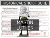 Martin Luther Historical Stick Figure (Mini-biography)