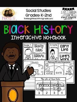 Martin Luther King Jr. / Black History Month Interactive Notebook