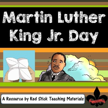 Martin Luther King Day Cootie Catcher Freebie