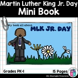 Martin Luther King Jr. Day Mini Book for Early Readers: MLK Jr. Day Activities