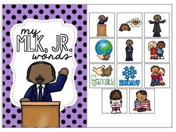 Martin Luther King, Jr. Preschool Language Unit - Freebie