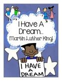 Martin Luther King MLK Literacy Activities