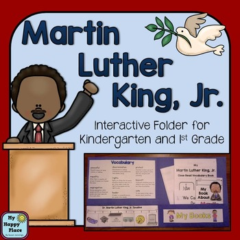 Martin Luther King Jr Interactive Folder