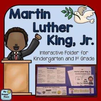 Martin Luther King Jr Interactive Folder