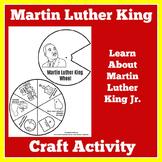 Martin Luther King Jr.   Craft Activity   Kindergarten 1st