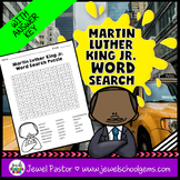 Martin Luther King Activities (Martin Luther King Jr. Word Search)
