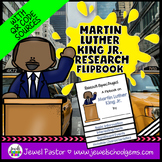 Martin Luther King Activities (Martin Luther King Jr. Research Flipbook)