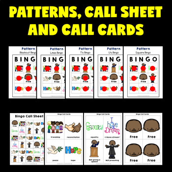 Martin Luther King Activities (Martin Luther King Jr. Bingo)