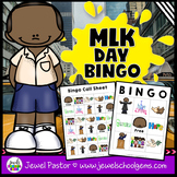 Martin Luther King Activities (Martin Luther King Jr Activities Bingo)