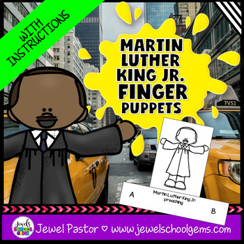 Martin Luther King Day Activities (Martin Luther King Jr. Crafts)