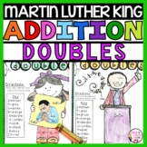 Martin Luther King Day Addition Doubles Facts