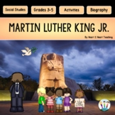 Martin Luther King Jr. Day with Articles, Activities & Flip Book