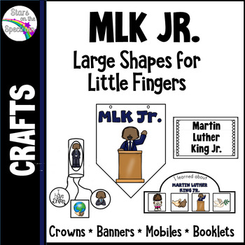 Martin Luther King Activities Crowns Banners and Mobiles
