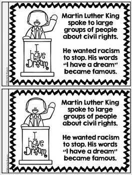 Martin Luther King Jr Reading Passages