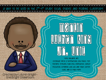 Martin Luther King  {A Cross-Curricular Unit}