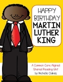 Martin Luther King: A Literature Unit