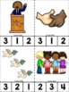 Martin Luther King Jr. ABC's & 123's Clip Cards {NO DITTOS}