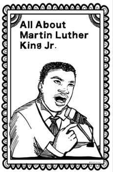 ALL ABOUT Martin Luther King-  11x17 Research Poster