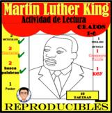 Martin Luther King Actividades