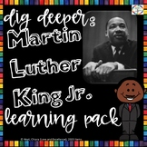 Martin Luther King Activity Learning Pack for 3rd, 4th,5th Grade