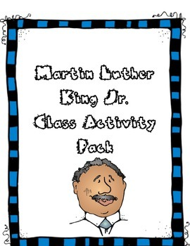 Martin Luther King Jr. Activities Pack (mini-book, word se