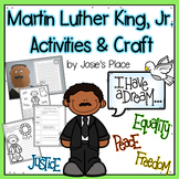 Martin Luther King Activities and Craftivity