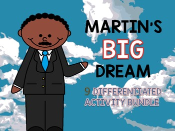 Martin Luther King Activity bundle