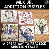 Martin Luther King Addition Puzzles