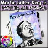 Martin Luther King Art Project, MLK Portrait