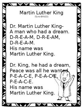 Martin Luther King Bingo Tune