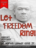 Martin Luther King Grades K-1 Leveled Reader and Activities