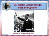 Martin Luther King Biography Fact and Opinion PowerPoint