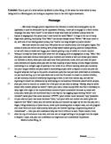 Close Read MLK Birmingham Jail Literary Analysis - Imagery, Contrast, Diction