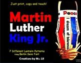 Martin Luther King Jr Crafts  ::  Black History Month Crafts ::  MLK Day Crafts