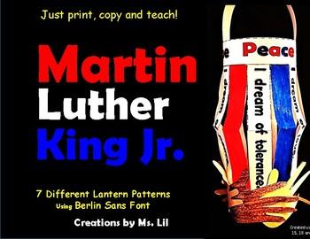 Martin Luther King Jr Crafts  ::  Black History Month Craf